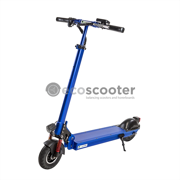 Electric-scooter-blue