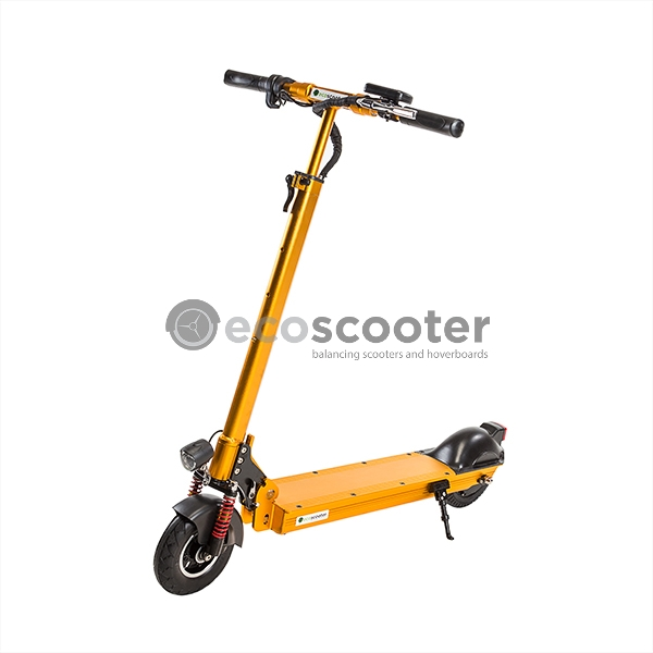 Electric-scooter-gold