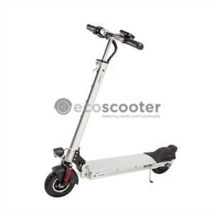 Electric-scooter-silver