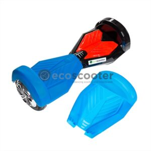 Silicone-cover-case-for-scooter-8`-Hoverboard-2-wheels-shell-blue