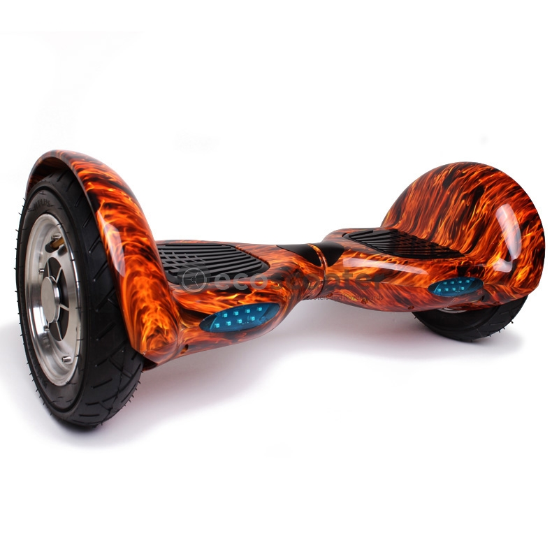 Hoverboard 10 Inch Wheels With Bluetooth Speaker Flame
