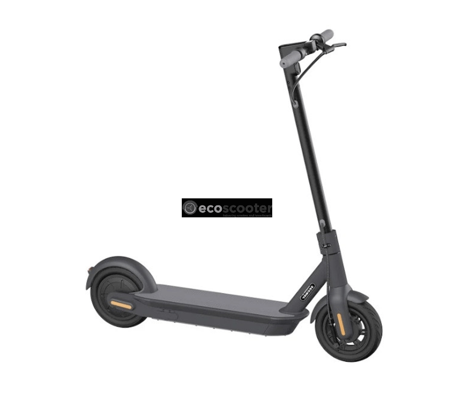 Electric Scooter Segway Ninebot Max G30 Black Ecoscooter Estonia